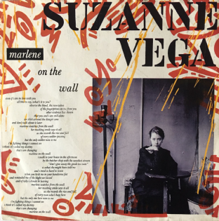 "Suzanne Vega ‎- Marlene On The Wall (7"") (VG/G+)"